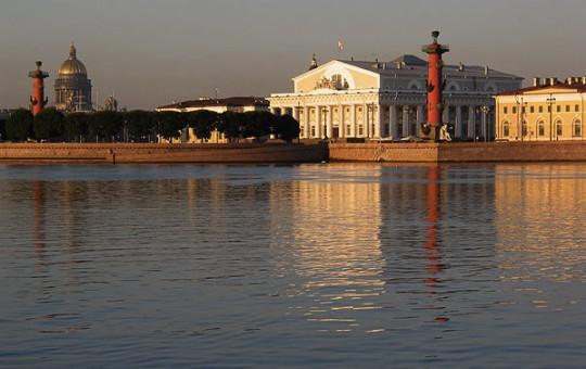 Spit of Vasiliev Island