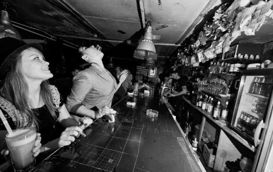Underground clubs of St. Petersburg