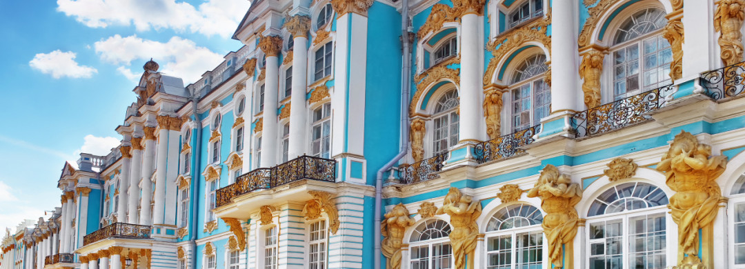 Tour to Catherine Palace