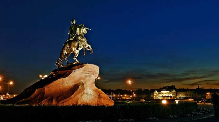 Bronze horseman