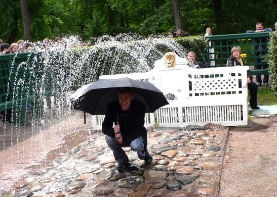 Tricky fountain