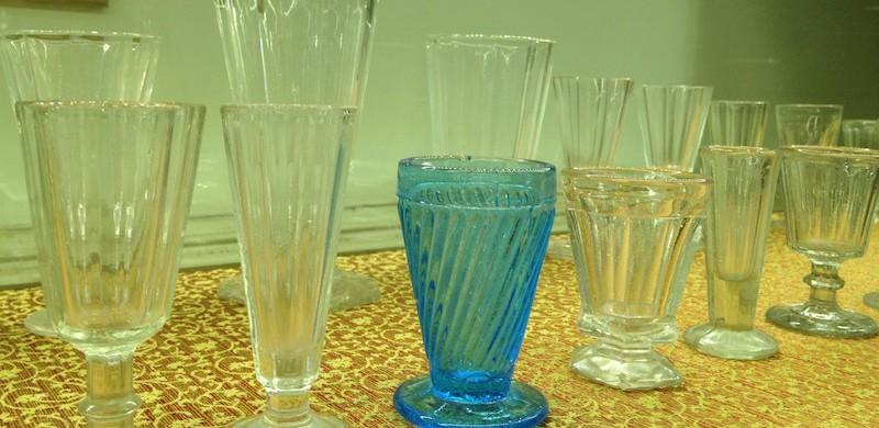 Vodka glasses in imperial Russia