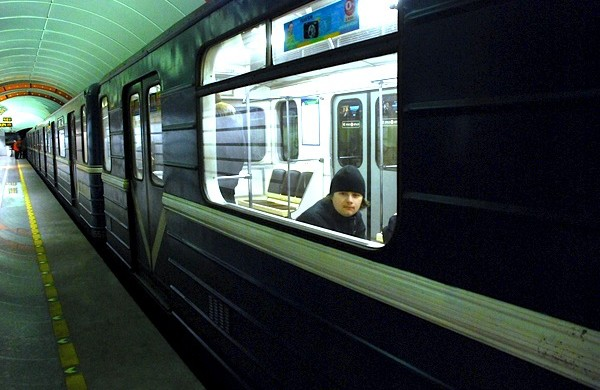 Authentic metro carriages