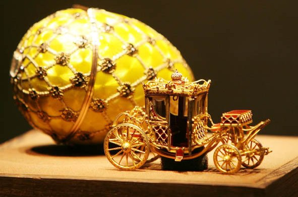 Tour to Faberge museum