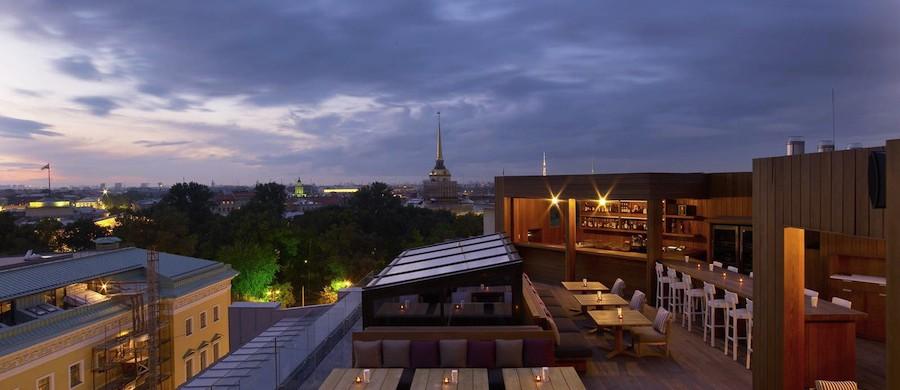 Rooftop restorant