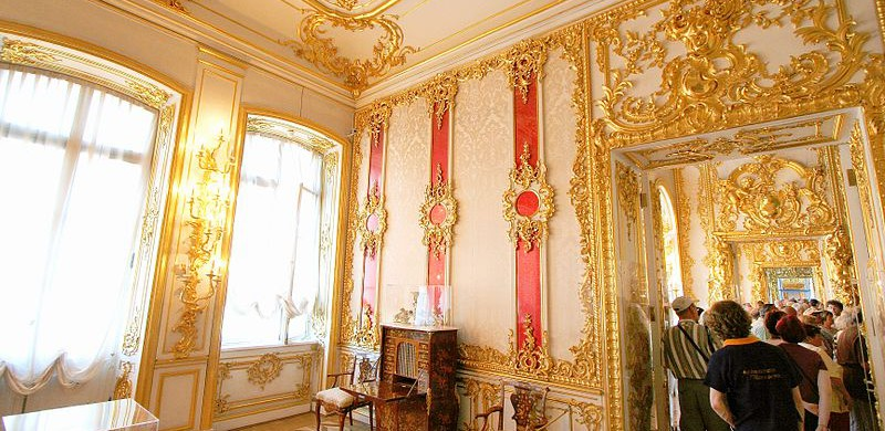 Crimson Pilaster room