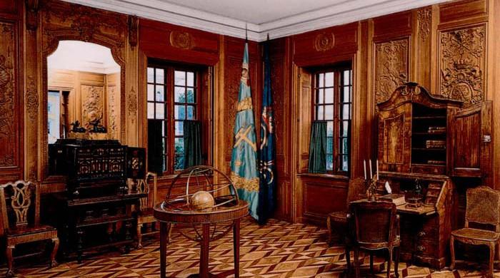 Oak study of Peter I