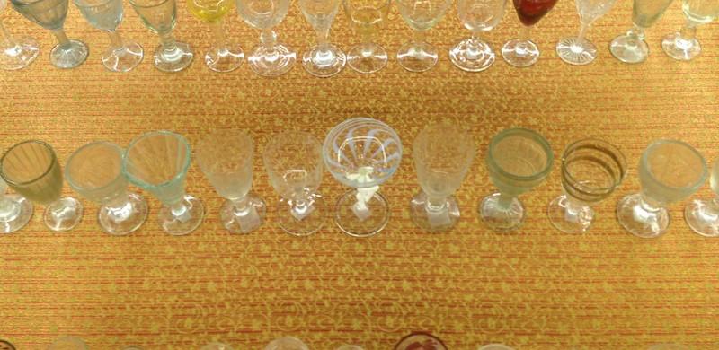 Vodka glasses in USSR