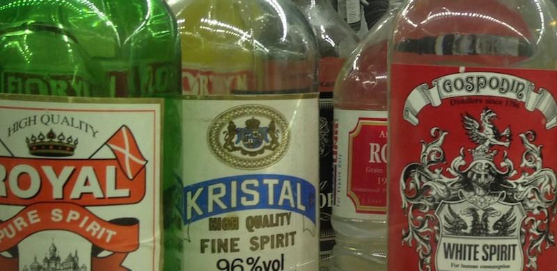 Vodka for export